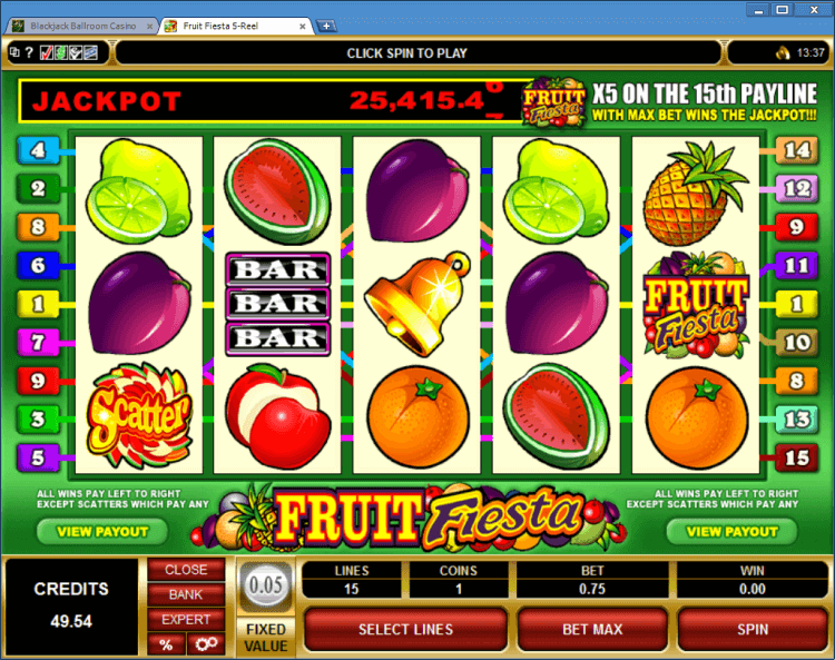 BlackJack fiesta Slots – 75799